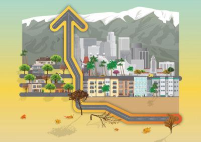 ¡AUMENTA LA DEVASTACIÓN DE ÁRBOLES EN CALIFORNIA!